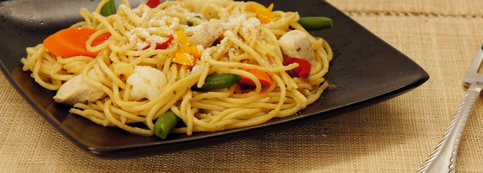 Skinner 174 Easy Chicken And Herb Spaghetti